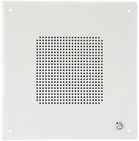"Atlas Sound VP14MB 8"" Square Ceiling Speaker With Vandal Resistant Baffle And 25V/70.74-4W Transformer"