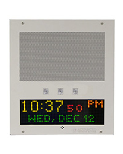 Advanced Network Devices IPSWD-RWB Flush Mount IP Speaker With Display And Flashers
